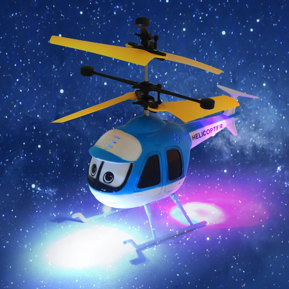 BDS Mainan Helikopter Remote Control Terbang Ukuran Mini Induksi