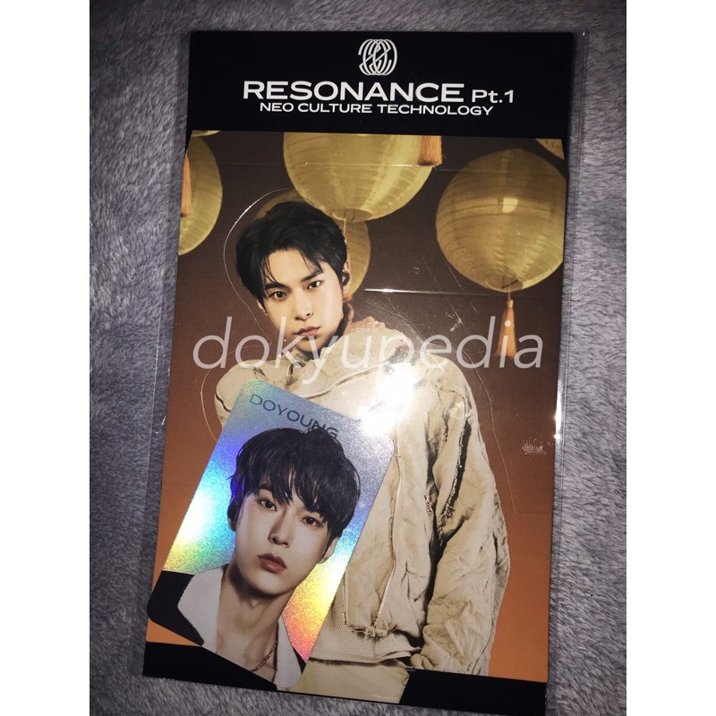 NCT DOYOUNG HOLO STANDEE RESONANCE PT.1