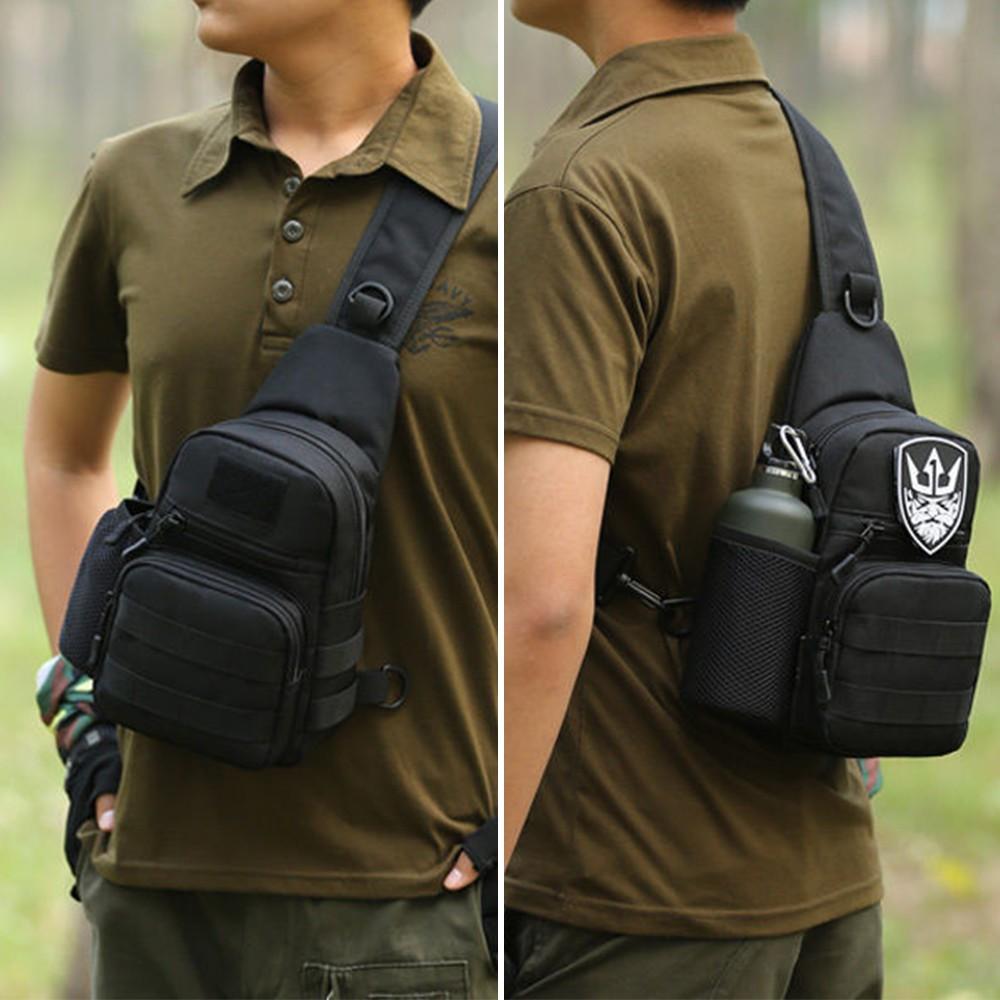 Bayar Di Tempattas Selempang Sling Dada Waterproof Model Militer 1 Gratis Tas Pinggang Tactical Military Outdoor Bag Pria Cowok Army Untuk Shopee Indonesia