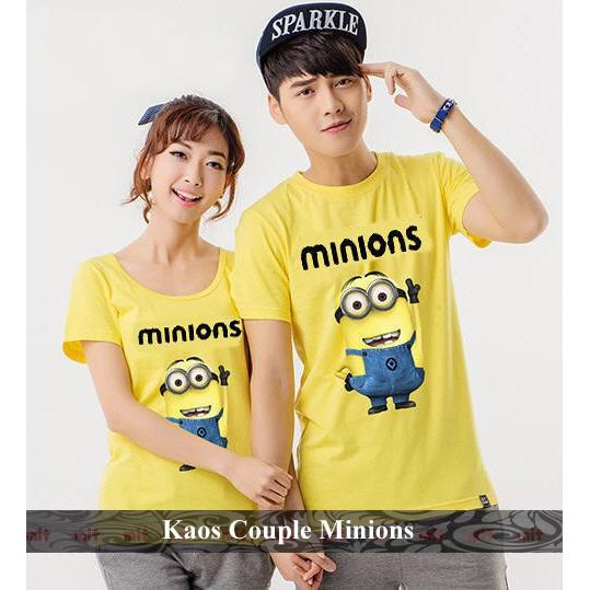 grosir kaos couple baju pasangan tshirt oblong murah putih soulmate mandarin putih wanita | Shopee Indonesia