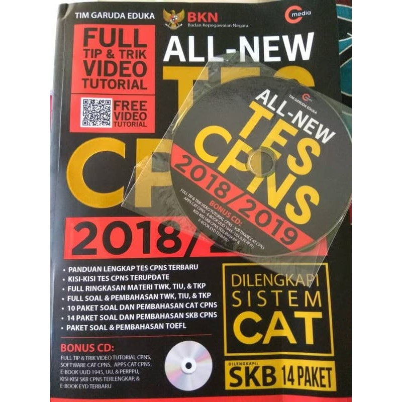 Buku Cpns 2018 2019 Materi Cpns 2018