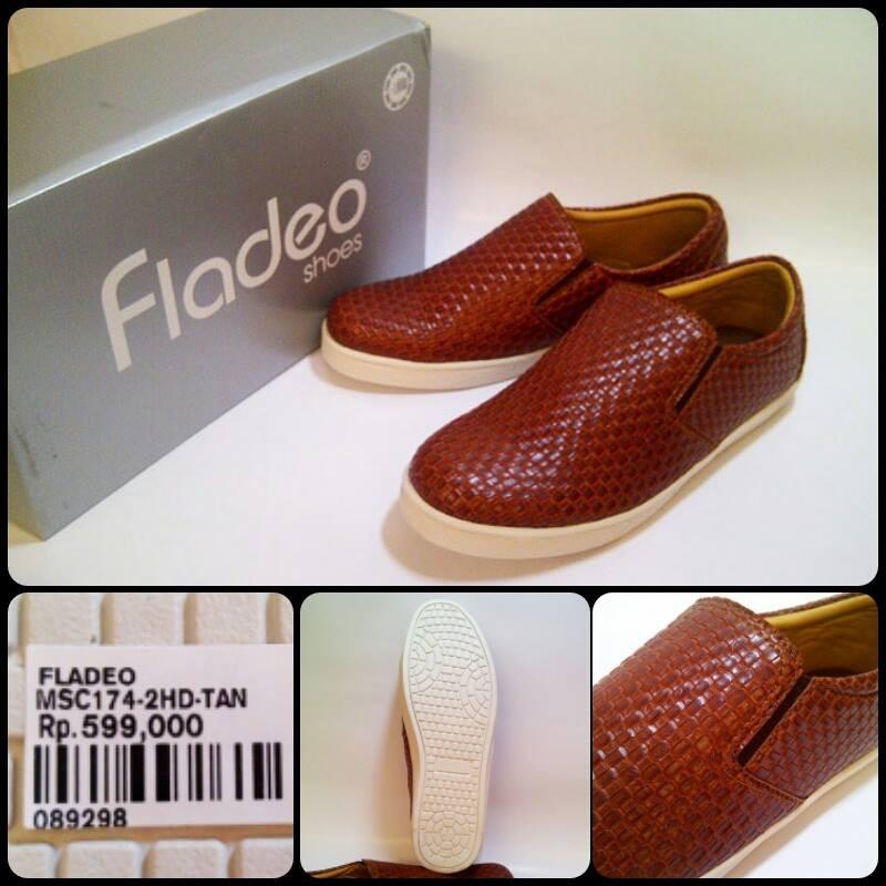 Real Pict Kode 968 Fladeo Man Original Sepatu Pria Size 41