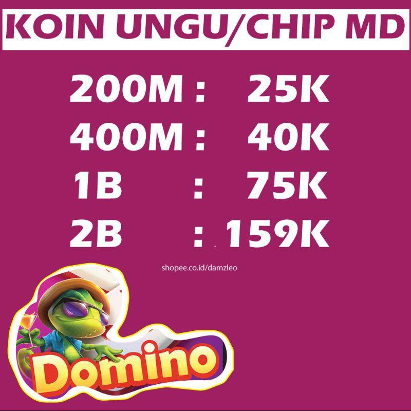 KOIN UNGU HIGGS DOMINO AGEN RESMI | CHIP MD