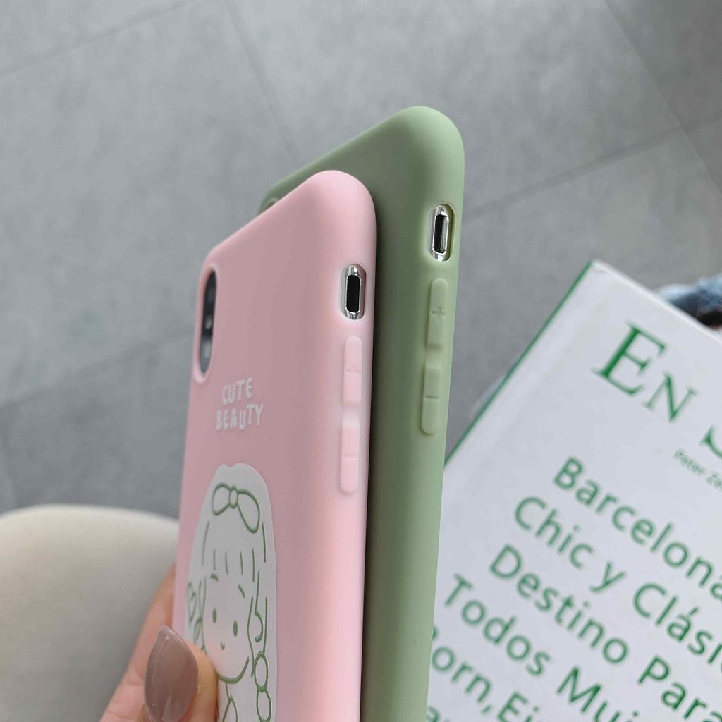Iphone Kasus Pasangan Kartun Lucu Untuk Iphone 6s 7 XS MAX 11pro 8 6 Plus IP11
