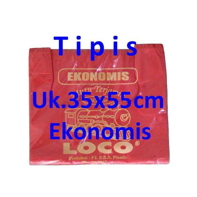 bisa nego Kantong Plastik Kresek Loco Uk.40 Ekonomis Hitam Isi 50 lembar per pak terlaris | Shopee Indonesia