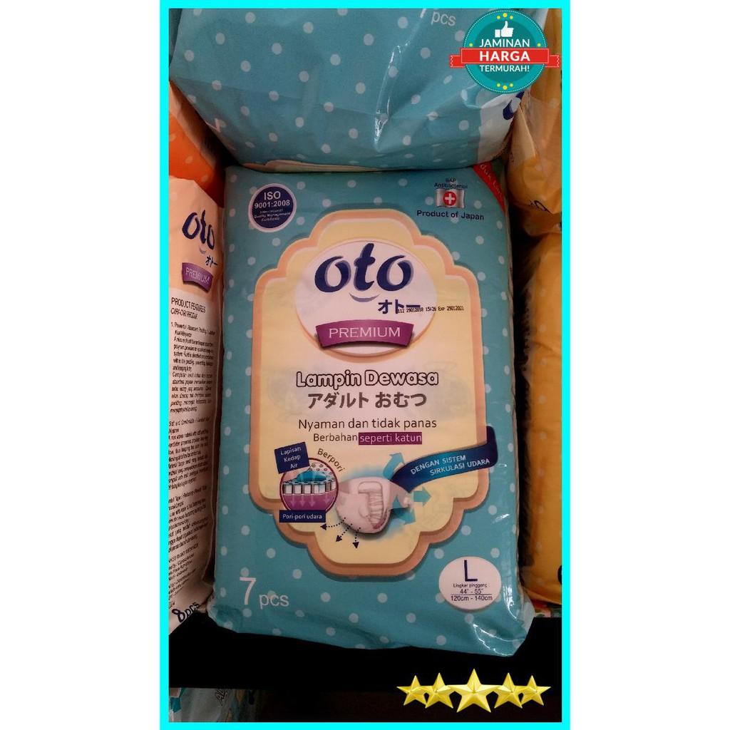 Oto L 8 Popok Dewasa Celana L8 Shopee Indonesia Adult Diaper