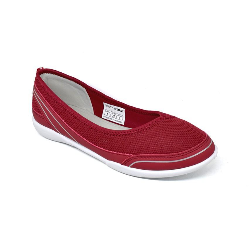 North Star Sepatu Wanita Karolina Red 5895315 Shopee Indonesia