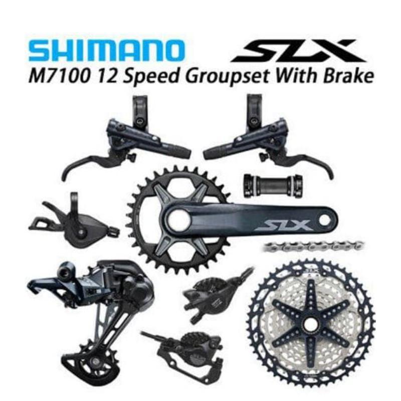 Groupset Shimano Deore SLX M7100 1×12 Speed