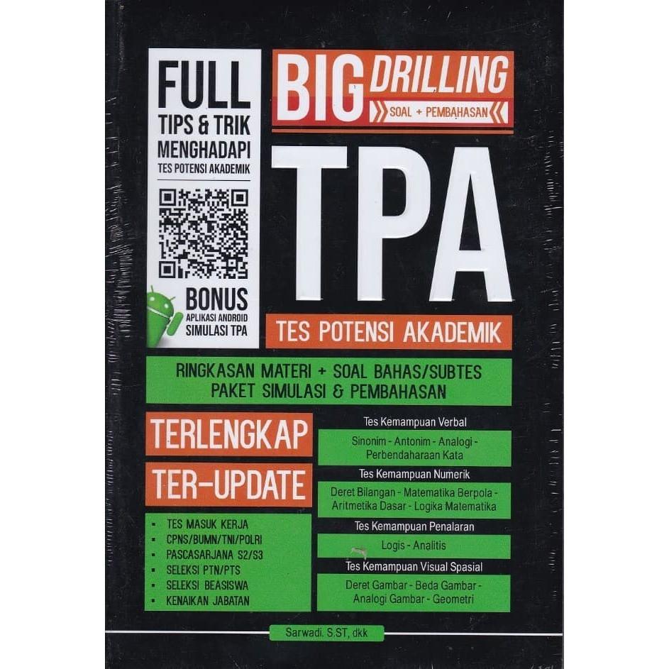 Buku Big Drilling Tes Potensi Akademik Tpa Shopee Indonesia