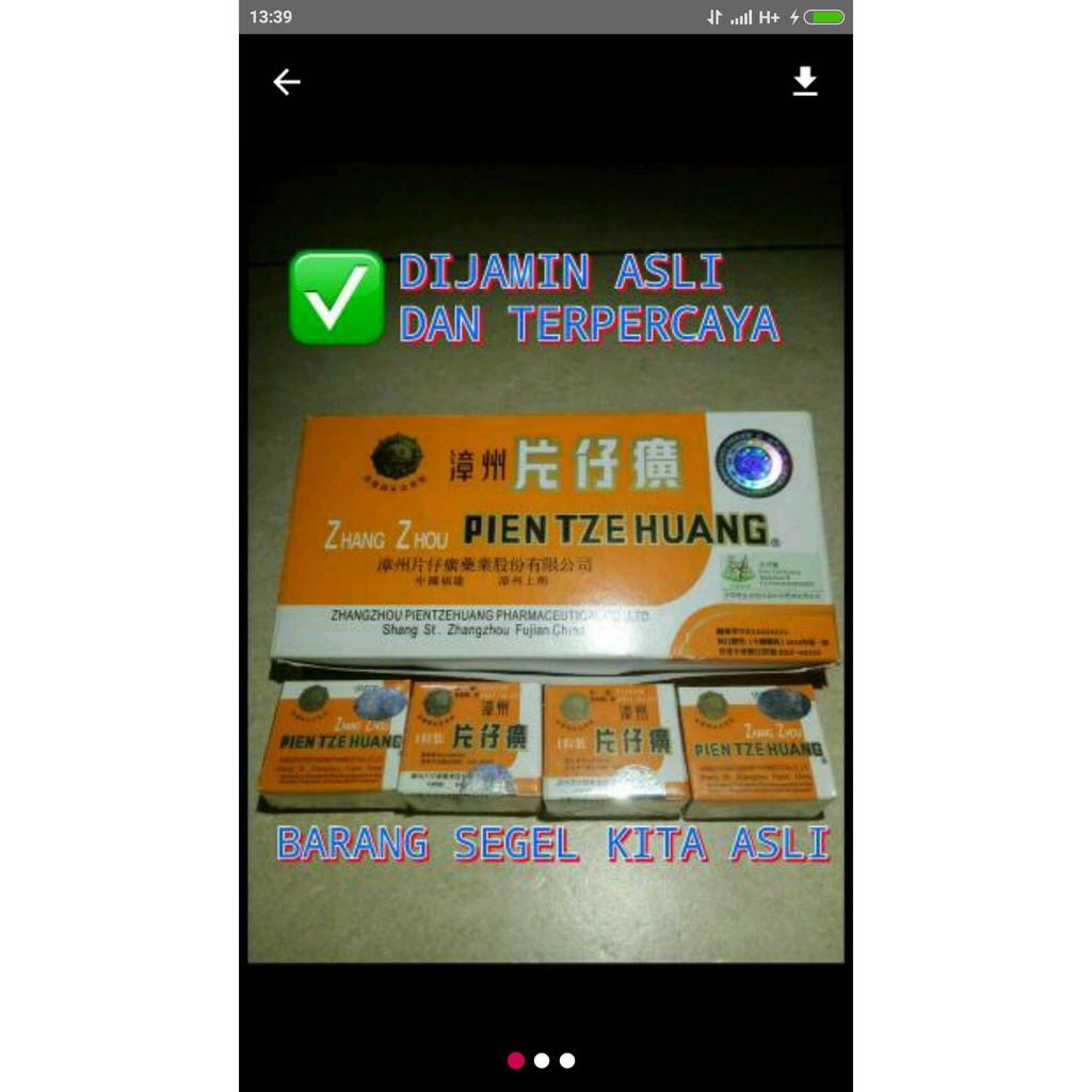 Pien Tze Huang Strip6 Daftar Harga Terkini Dan Terlengkap Indonesia Vitahealth Prostate 30 Kapsul Walatra