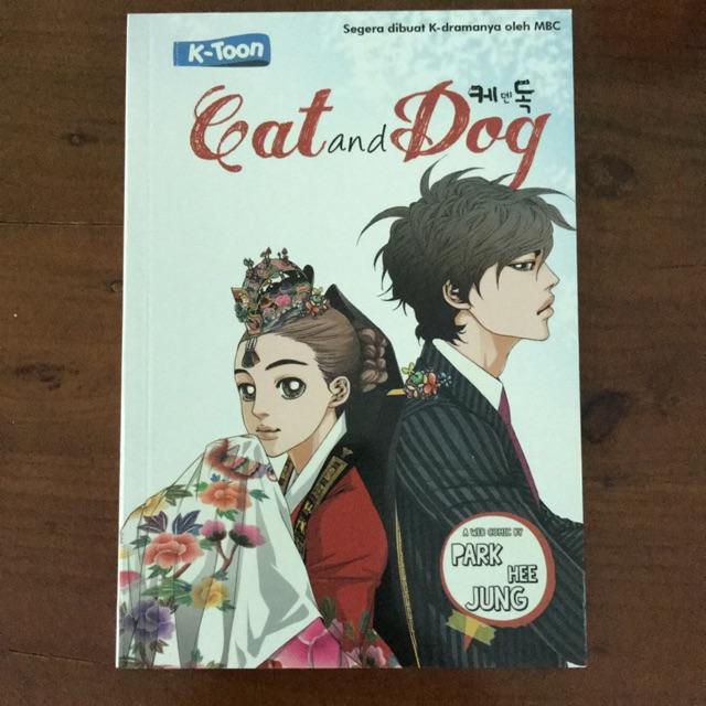 Komik Cats And Dogs 1 Set Isi 5 Buku Shopee Indonesia