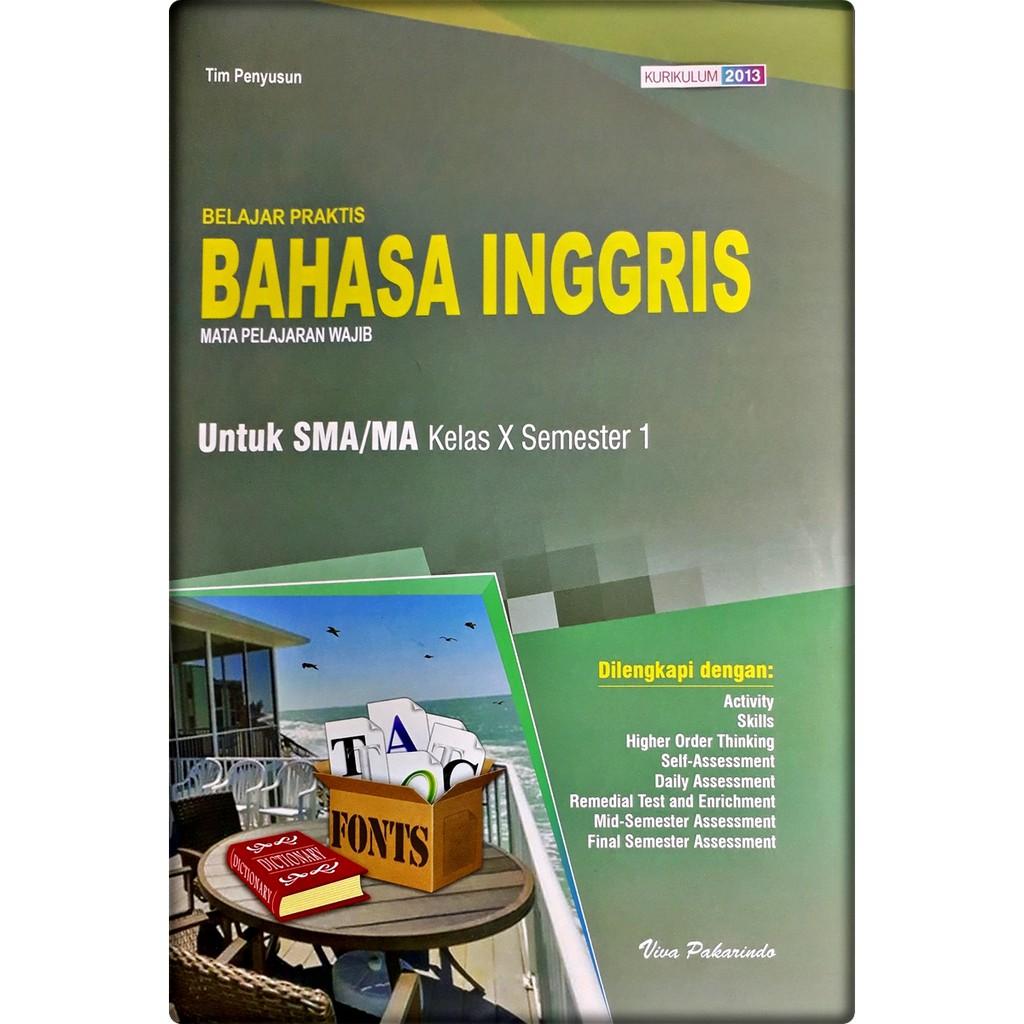 Lks Bahasa Inggris Sma Ma Kelas X 10 Semester 1 2020 2021 Viva Pakarindo Shopee Indonesia