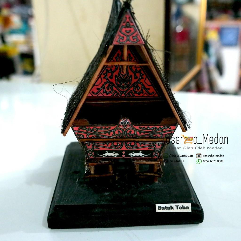 Miniatur Rumah Adat Batak Toba Shopee Indonesia