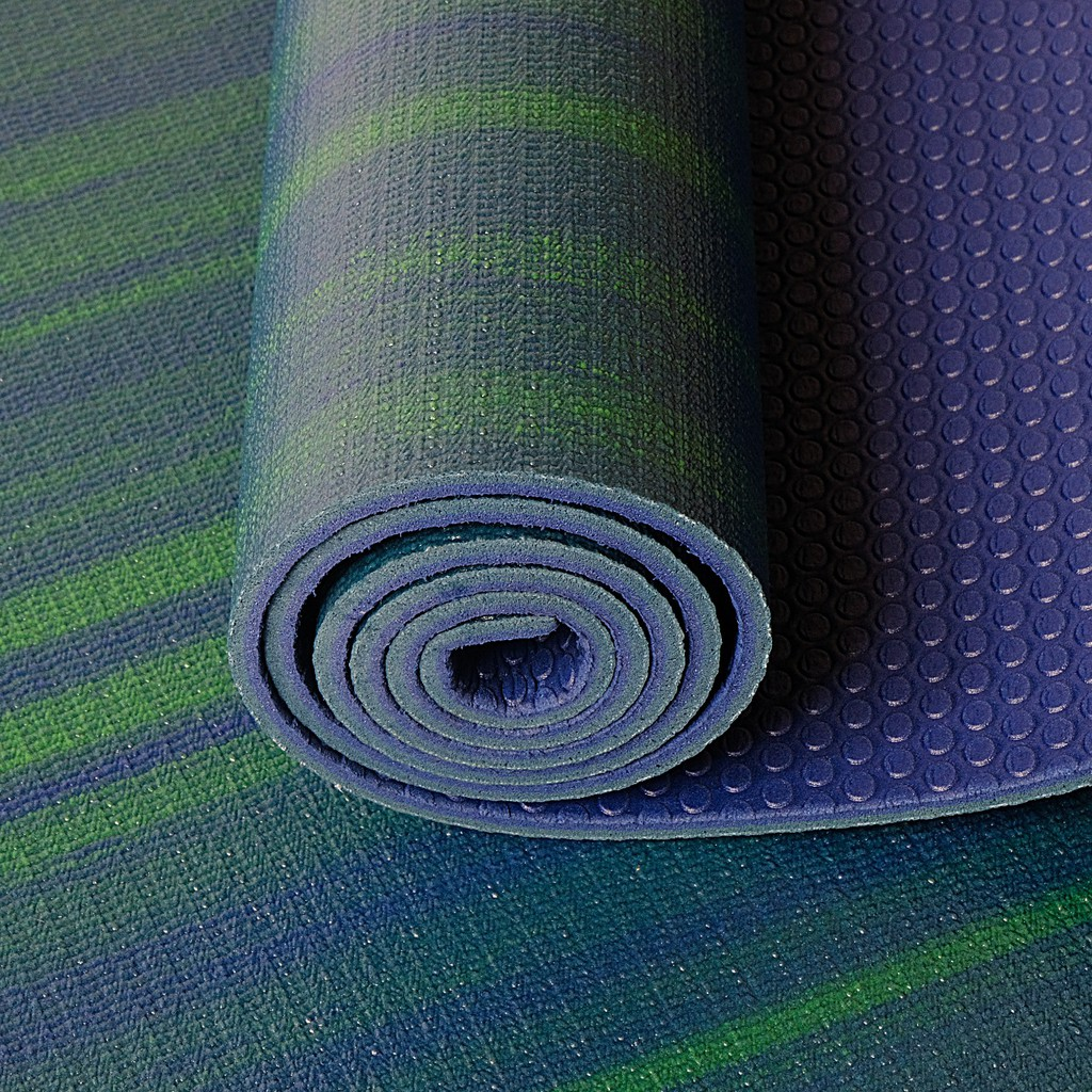 Matras Yoga Yoga Mat Hd Pvc Mix Tebal 5mm Shopee Indonesia
