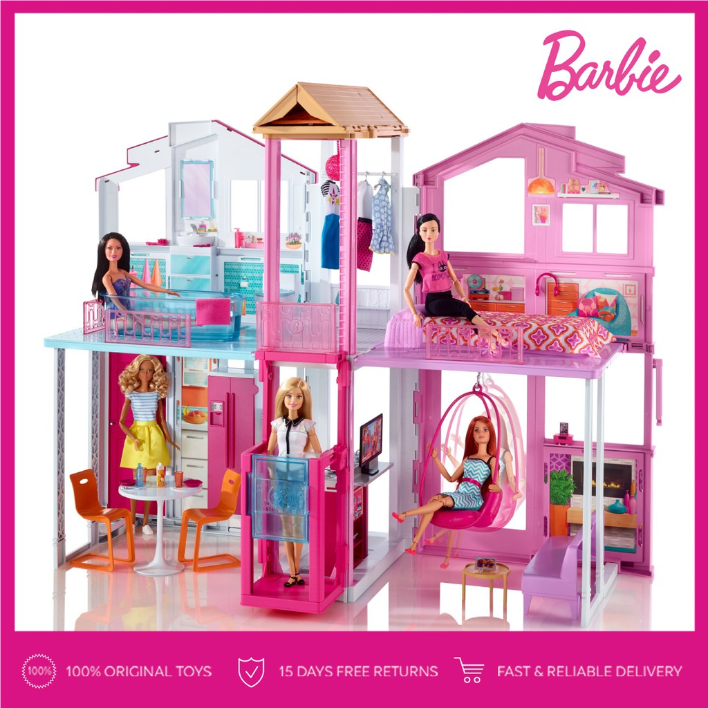 TRIPLE BUNDLE Barbie Chic Doll Mainan Boneka Anak Perempuan  e1b7e85e90