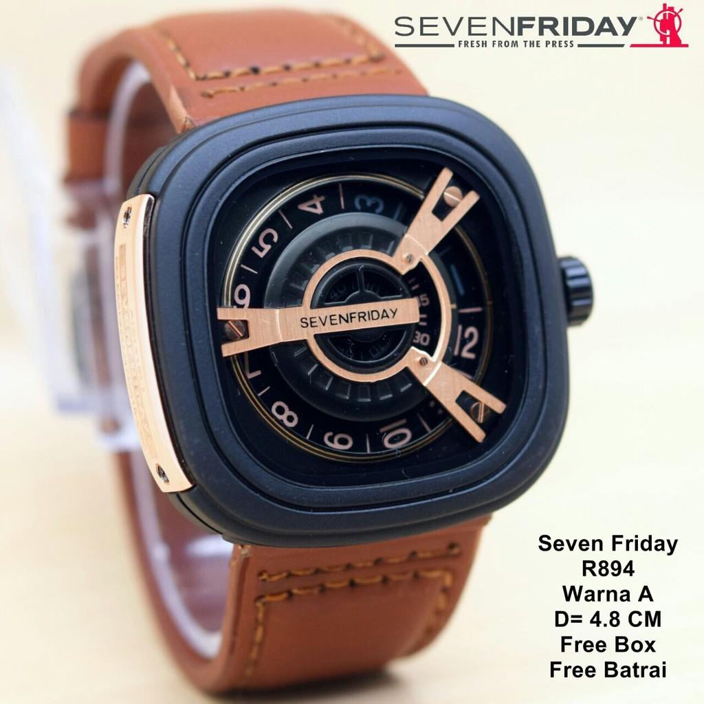 Jam Tangan Pria SevenFriday Body Kayu Seven Friday Wood Schinger ... 751d2d5f5d