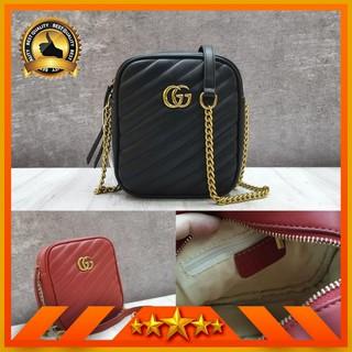 847d2b751767 HARGA SPESIAL Gucci GG Marmont Mini Shoulder Bag / Tas Selempang Wanita  Import | Shopee Indonesia