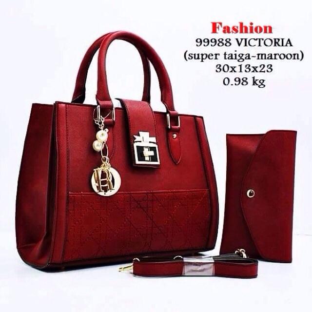 luxury bag L001090 BAG VICTORIA Tas Wanita Import Tas Batam Cewek Tas Murah  Hand Bag  b921986399