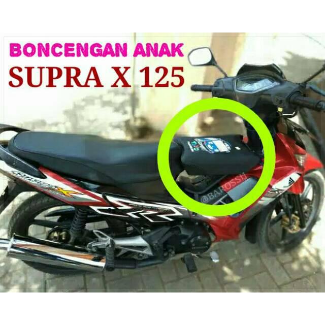 Karakter Jok Boncengan Anak Honda Supra X 125 Shopee Indonesia