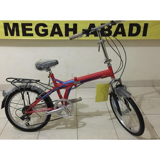 Sale Sepeda Lipat 20 United Quest C1 02 Shopee Indonesia