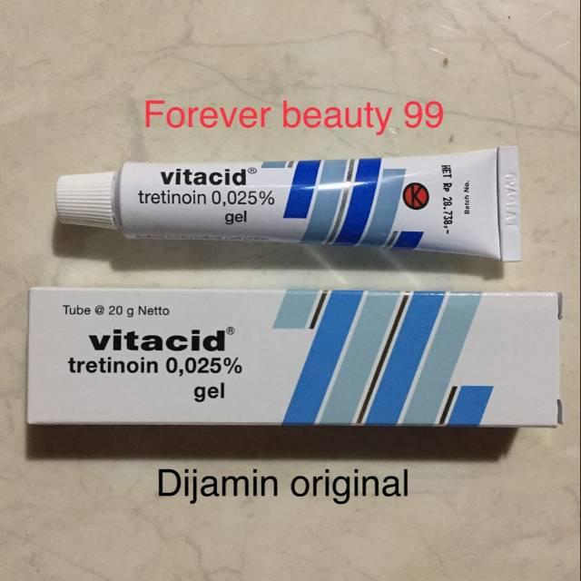 Vitacid 0.025 % Gel 0,025 %