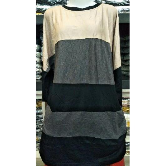 B 1088 Kaos BIG SIZE Baju Kaos Atasan Impor Kaos Wanita Peach Roses Cotton T Shirt   Shopee Indonesia