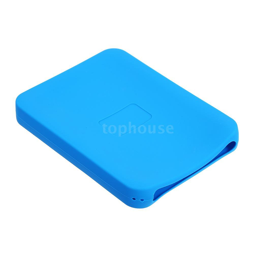 "Silicone Case 2.5/"" inch HDD SSD Protective Cover Protector Skin for Seagate SSD"
