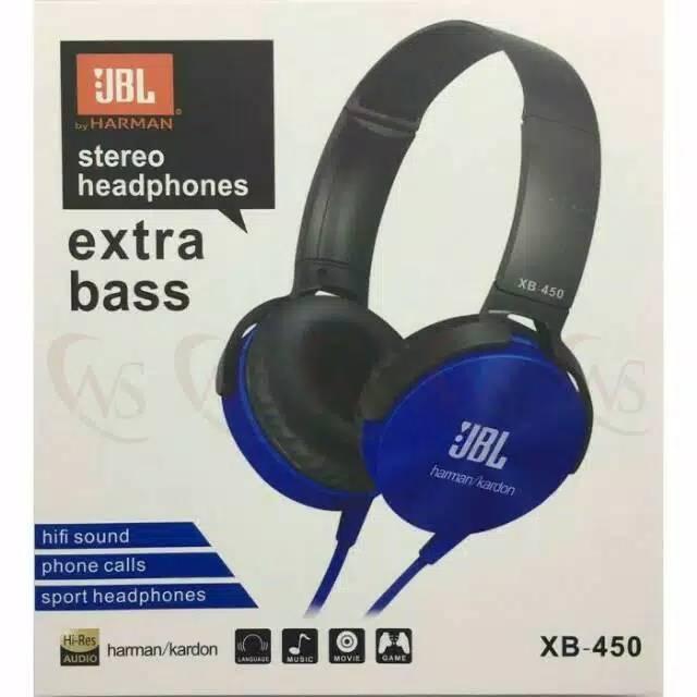 HF JBL Extra Bass XB-450 + kabel mic
