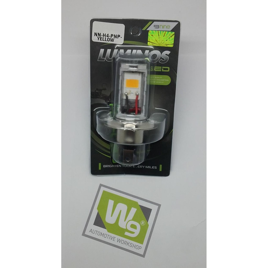 LAMPU LED H4 PNP YELLOW MOTOR LUMINOS | Shopee Indonesia