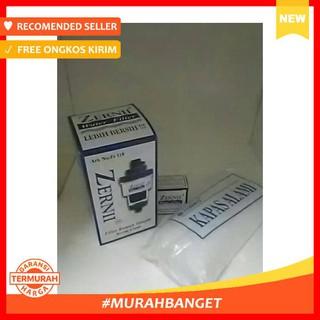 Filter Keran Air - 1 Paket Filter Air Zernii, Plus 1 Refill Karbon Dan 1 Refill Kapas - Ledeng