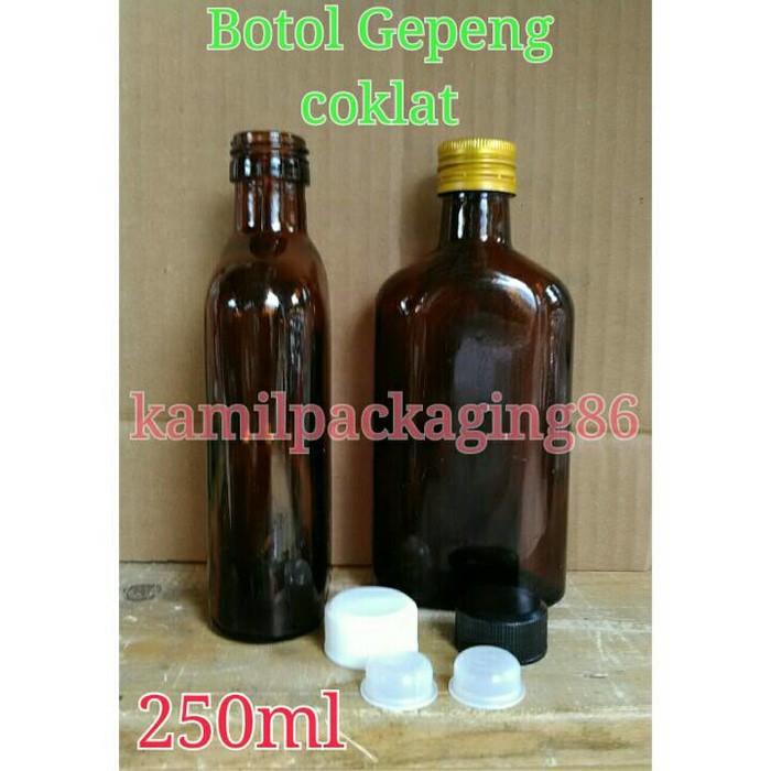 Botol kaca juice 280ml & 250ml.