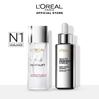 L'Oreal Paris Revitalift Crystal Micro Essence  Serum Skin Care - 65 ml & Clinical Essence - 30 ml