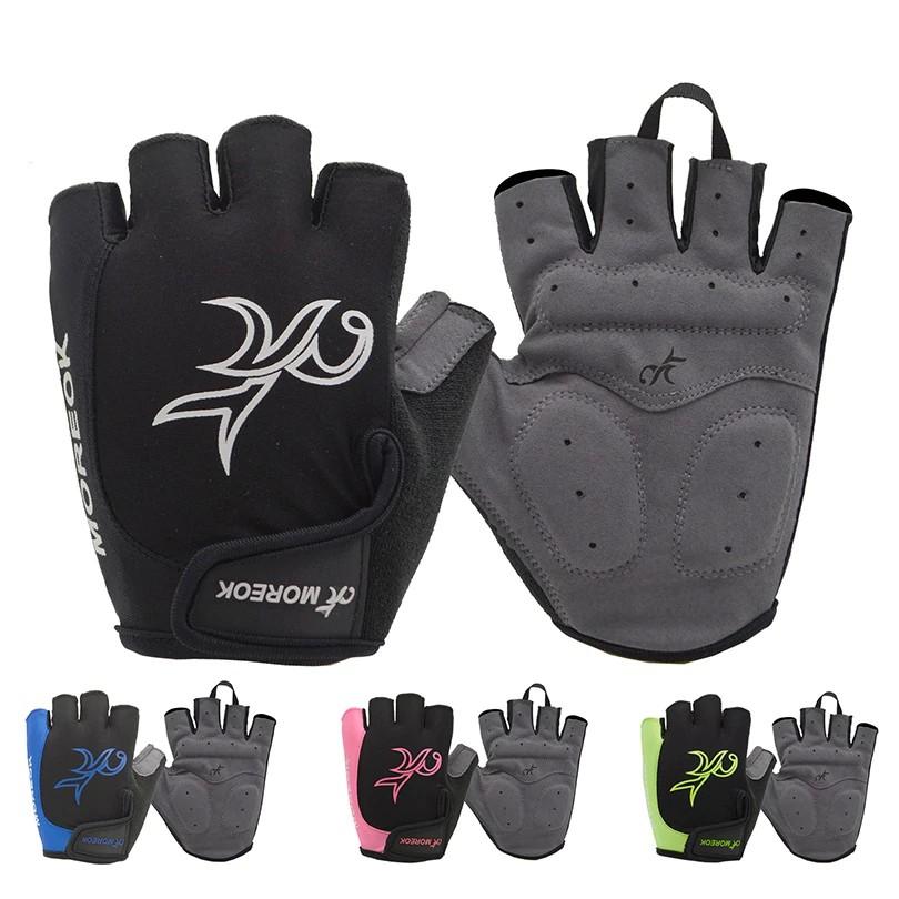 summer half finger cycling gloves gel breathable gym gloves mtb road bike gloves