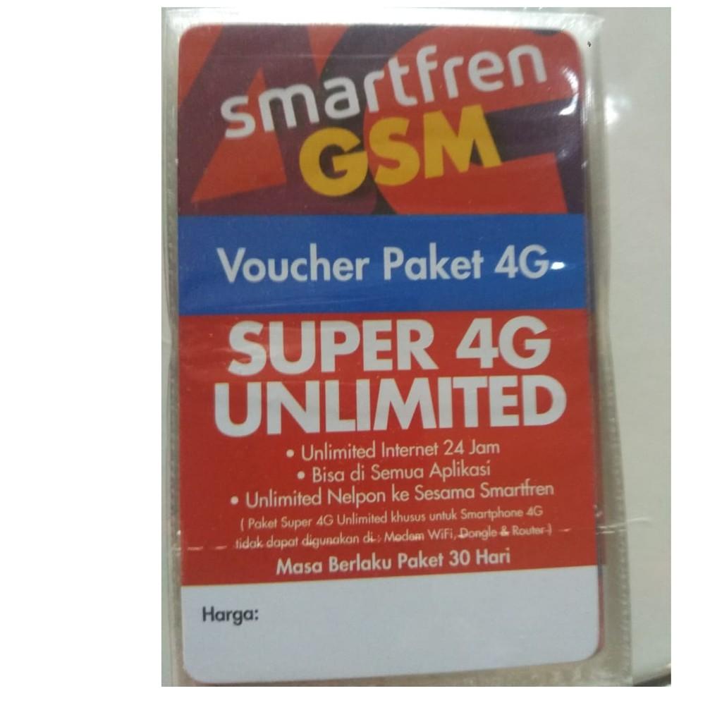 Kartu Perdana Smartfren 16gb Super 4g Kuota Shopee Indonesia