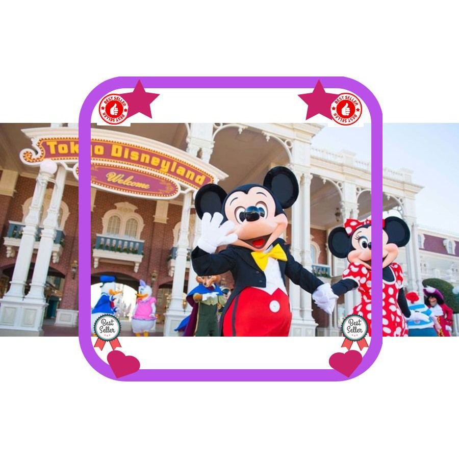 1 Day Hopper Pass Disneyland Los Angeles Park Reguler Season Disney Hk With Meal 2in1 Dewasa Land California Adventure La Shopee Indonesia