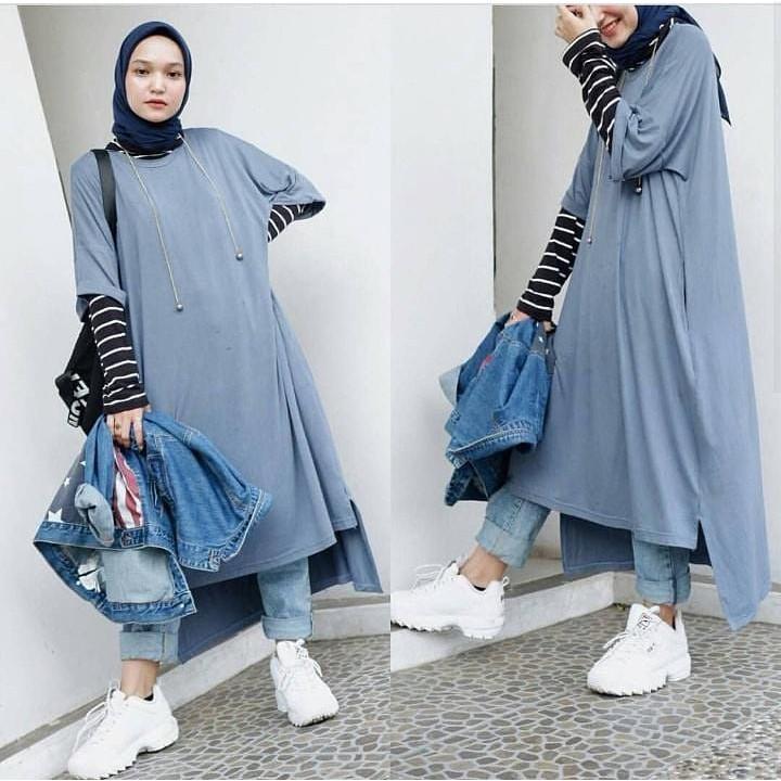 Fila Set Setelan Baju Wanita Trendy Atasan + Bawahan Modern Modis Casual Trendy Simple Termurah | Shopee Indonesia