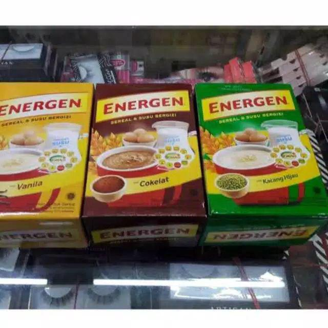 Energen Kotak Isi 5 Sachet X 30g Energen Vanilla Energen Kacang Hijau Shopee Indonesia