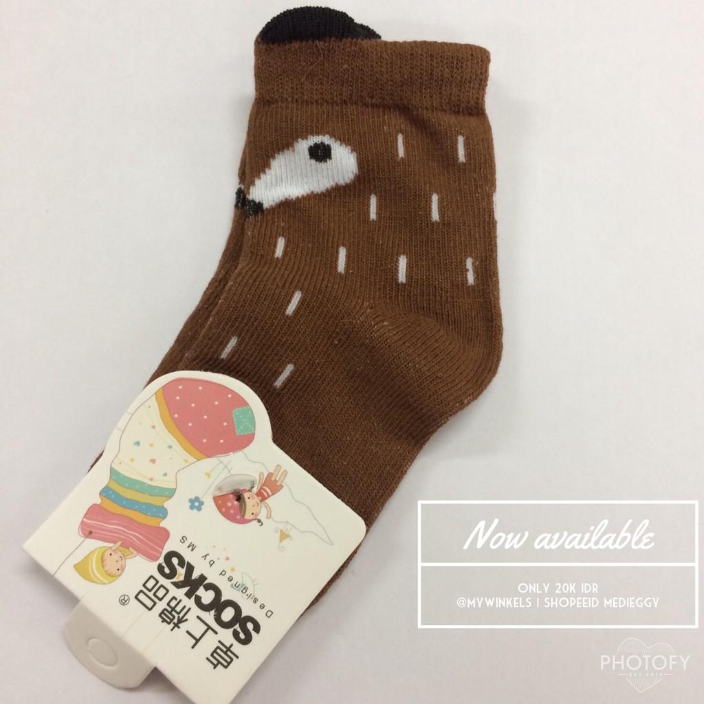 A 02 Baby Socks Kacakid Anti Slip Kaos Kaki Bayi Shopee Indonesia Anak Karakter Animal Pony Kids Kid Sock