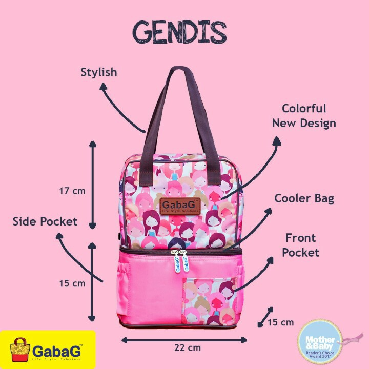 GABAG COOLER BAG SINGLE SLING SERIES PINK CAMO/ COOLER BAG/ TAS ASI | Shopee Indonesia