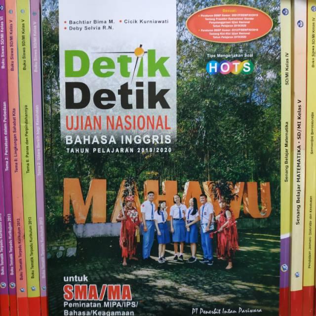 Detik Detik Un Bahasa Inggris Sma 2020 Plus Kunci Jawaban Intan Pariwara Shopee Indonesia