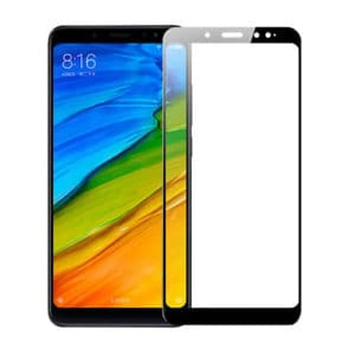 TM-659 TEMPERED GLASS 5D XIAOMI MI 8 Full Lem Full Cover Layar Premium Glass