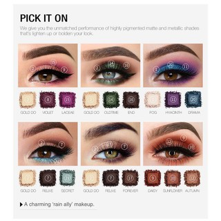 O.TWO.O 21 Color DARLING Drama Dream Eyeshadow Compact Palette With Mirror Kaca 4