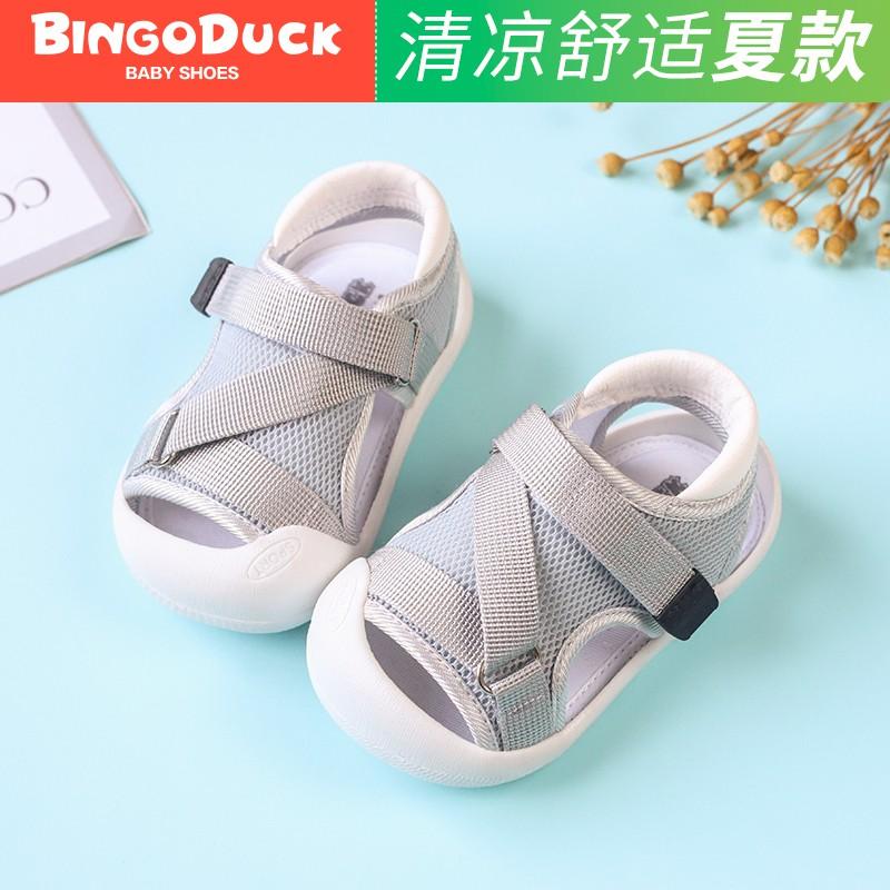 2019 Baby Boys Blue Sandals Cowboy Crib Shoes Summer Infant Babys Walking Shoes