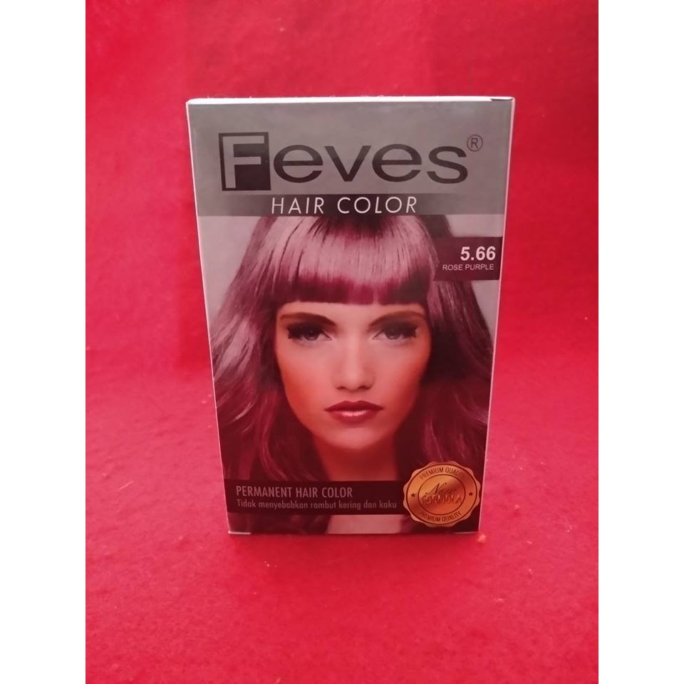 Cat Rambut Samantha Hair Colorant Coffee Purple Shopee Indonesia Feves Color Cream Besar  60ml