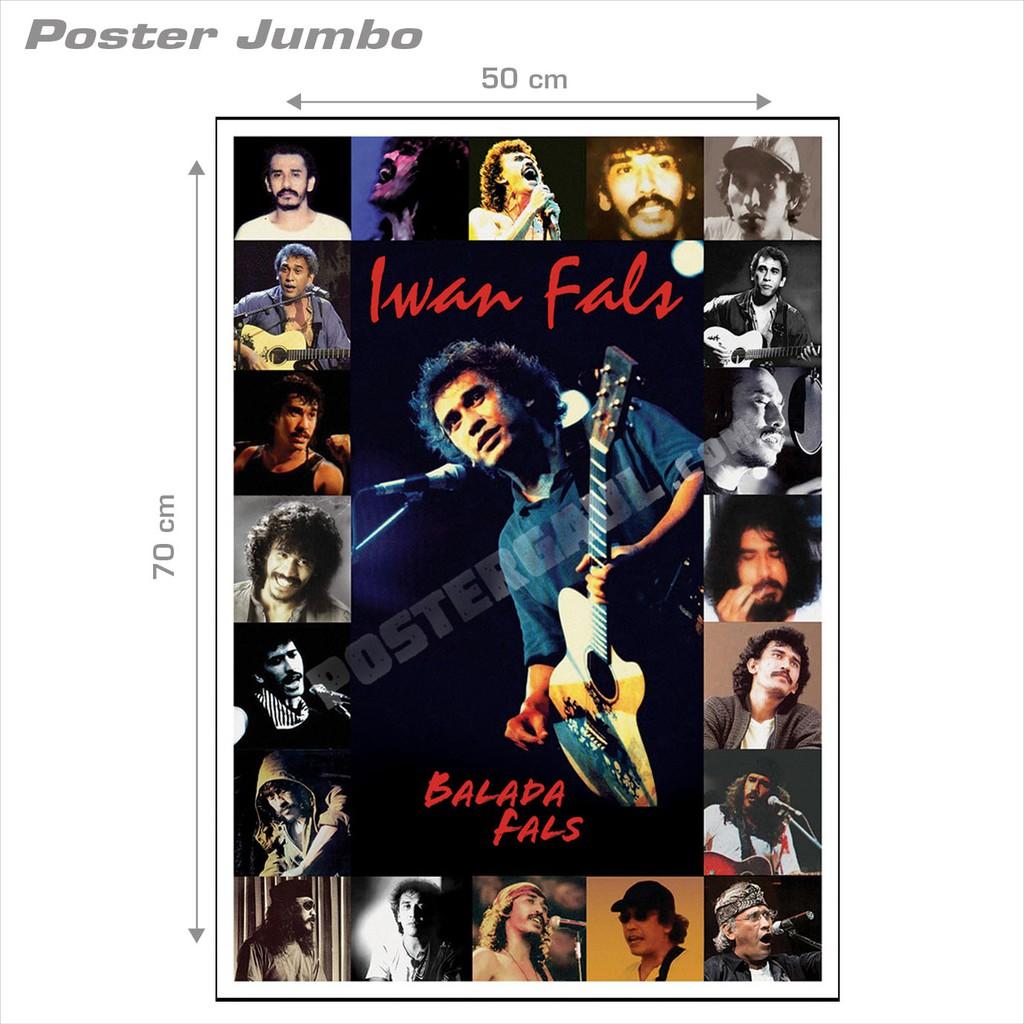 [COD] Poster Jumbo: SLANK #SLK20 - ukuran 50 x 70 cm | Shopee Indonesia
