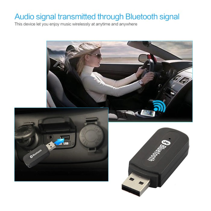 ToHayie Pemutar Mp3 Radio FM USB Stereo Dalam Mobil Adapter Audio Bluetooth | Shopee Indonesia