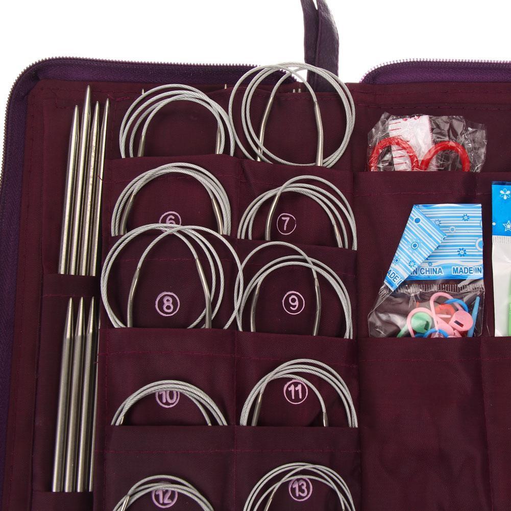 KnitPro Nova Metal Fixed Circular Knitting Needles 150cm All lengths 25cm