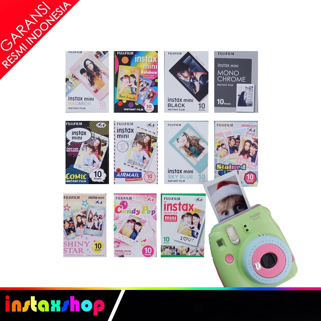 Fujifilm Instax Mini Mickey Instant 30 Film For Fuji 7s 8 9 25 50s Refill Wide Twinpack Plain 20 Lembar 70 90 Sp 1 2 Shopee Indonesia