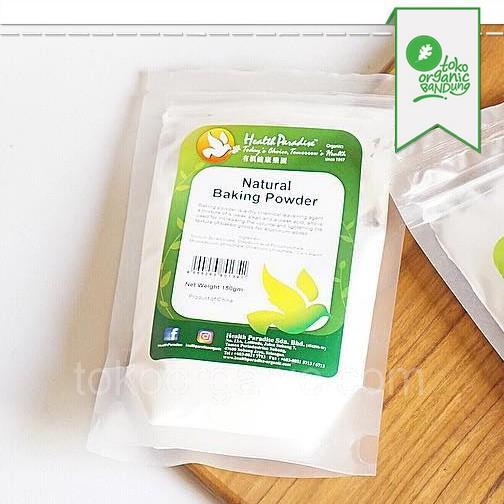 Natural Baking Powder 150gr - Health Paradise