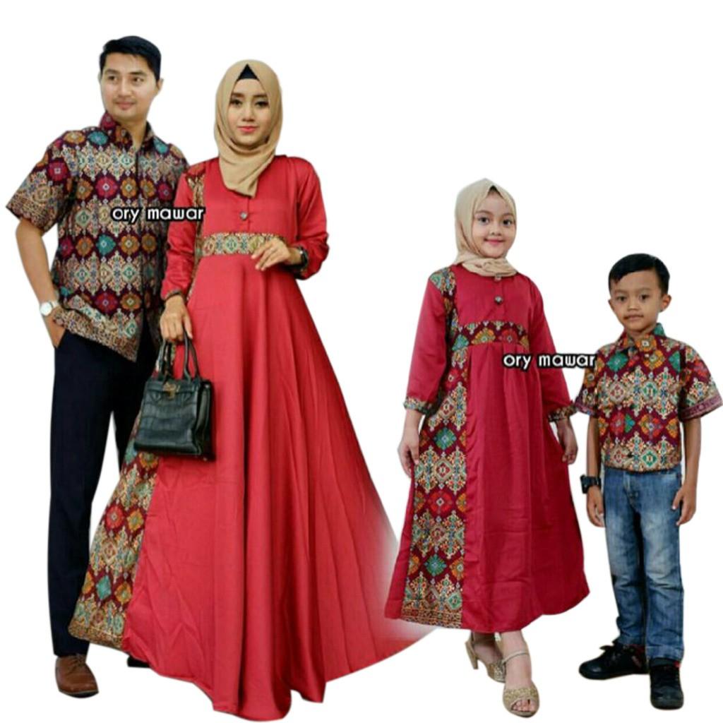 Best Seller  BATIK COUPLE MODERN CARDIGAN TANIA Sarimbit Keluarga Baju  Pesta Batik Pekalongan  abc41c6c7c